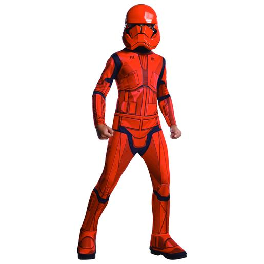 Star Wars - Disfarce Infantil Sith Trooper 8-10 anos