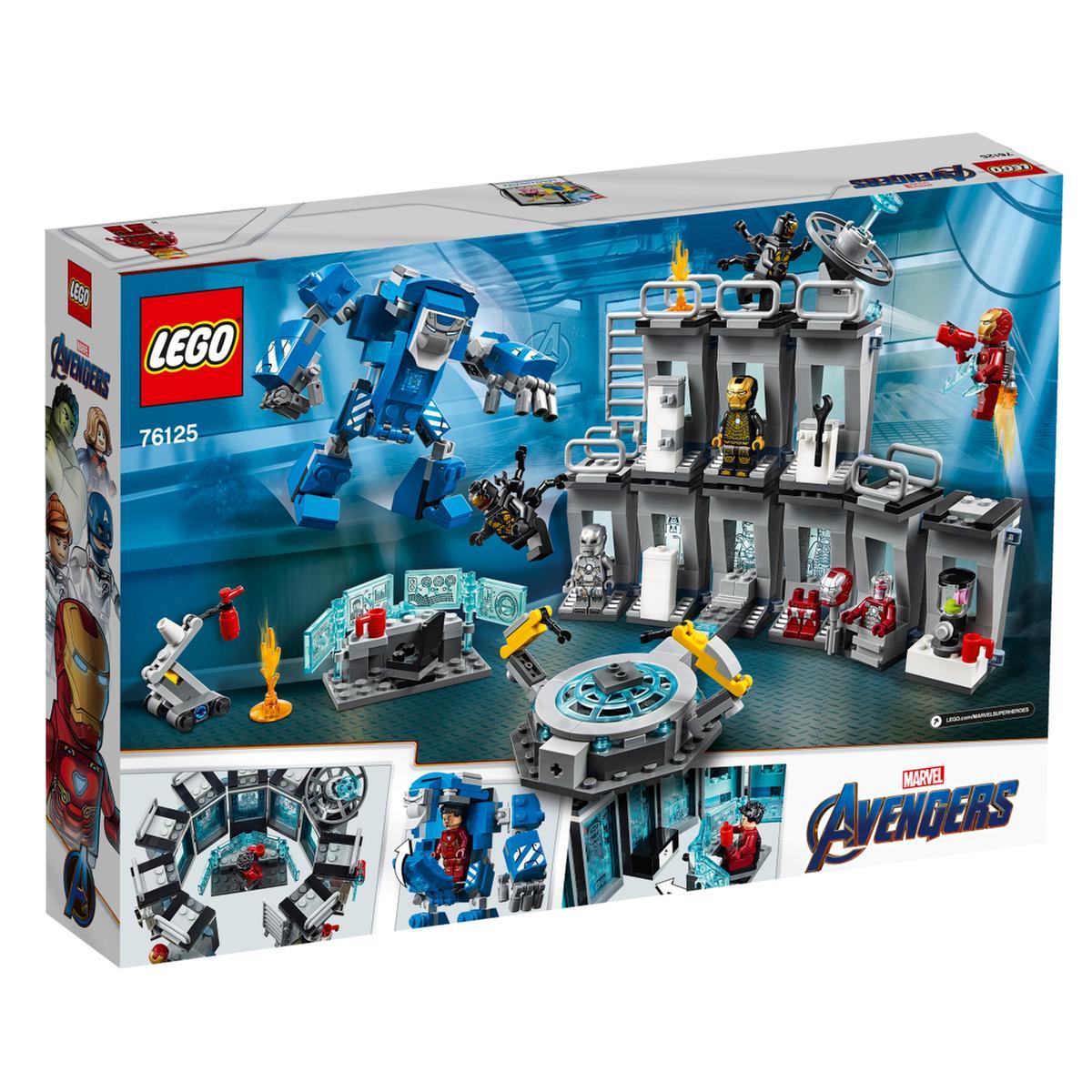 Lego Súper Heróis O Salão Das Armaduras De Iron Man 76125 Lego Marvel Super Heroes Loja De Brinquedos E Videojogos Online Toysrus