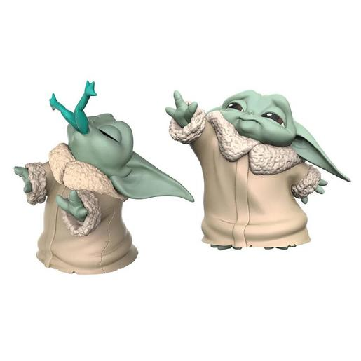Star Wars - Baby Yoda The Child - Pack Figuras 6,3 cm Rã e Força