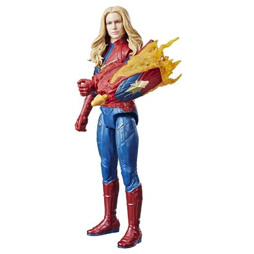 Os Vingadores - Captain Marvel - Figura Titan Hero