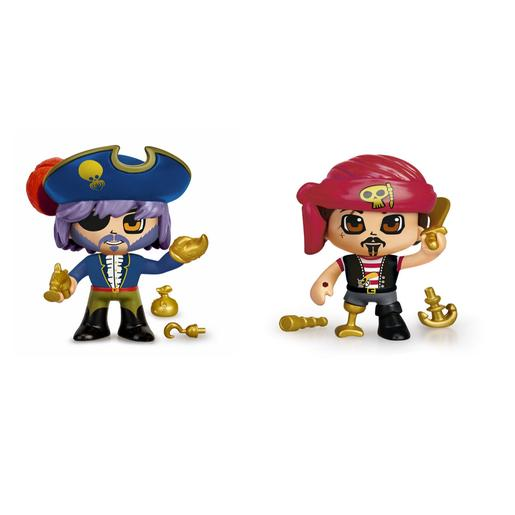 Pinypon - Blister 2 Figuras Piratas Pinypon Action