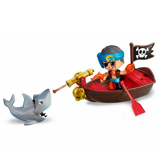 Pinypon - Bote dos Piratas Pinypon Action