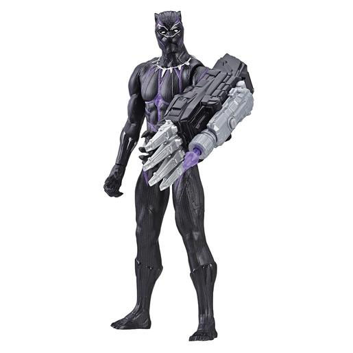 Os Vingadores - Black Panther - Figura 30 cm Titan Hero Power FX