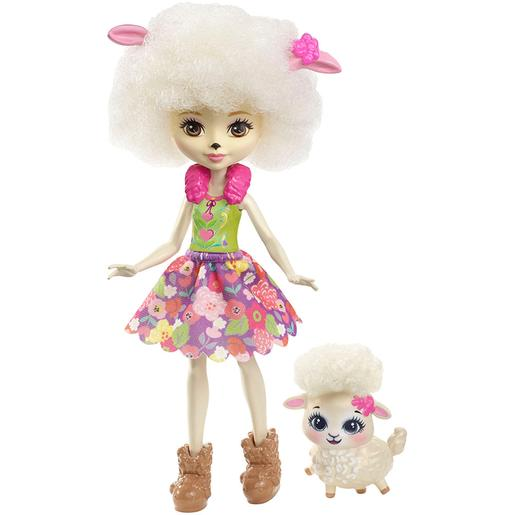 Enchantimals - Lorna Lamb - Boneca e Mascote