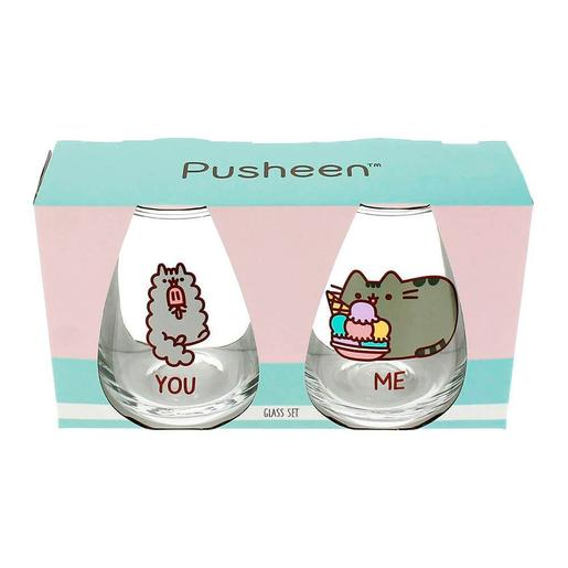 Pusheen - Set 2 Copos You & Me