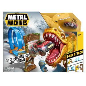 Metal Machines - Circuito com duplo loop e T-Rex