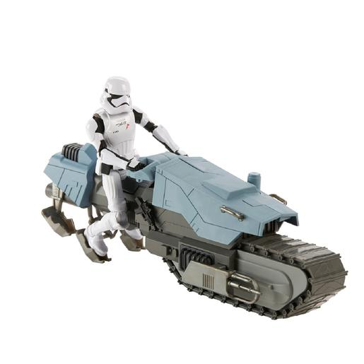 Star Wars - Condutor da Primeira Ordem e Treadspeeder Galaxy of Adventures