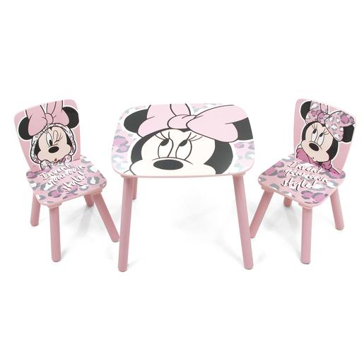 Minnie Mouse - Set de Mesa e Cadeiras