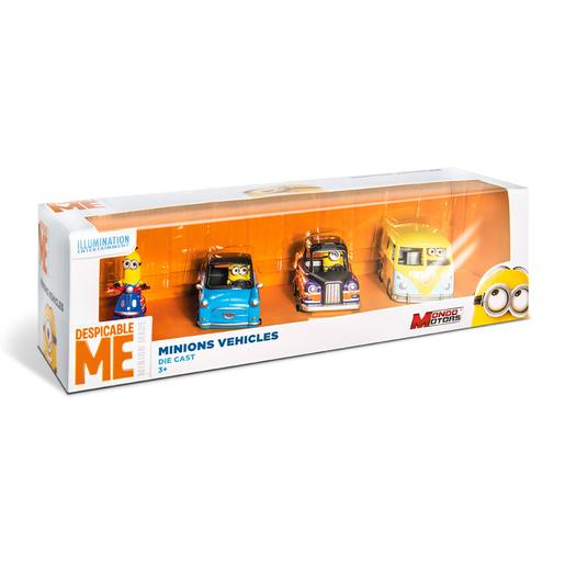 Minions - Pack 4 Veículos
