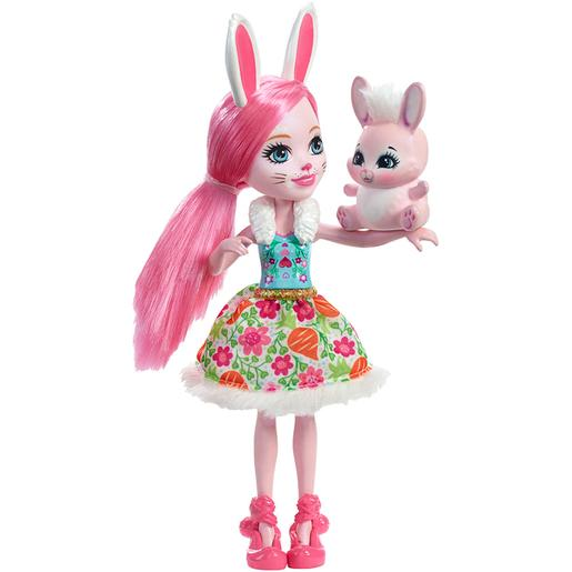 Enchantimals - Bree Bunny - Boneca e Mascote