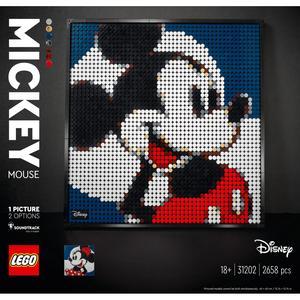 LEGO Art Disney S Mickey Mouse