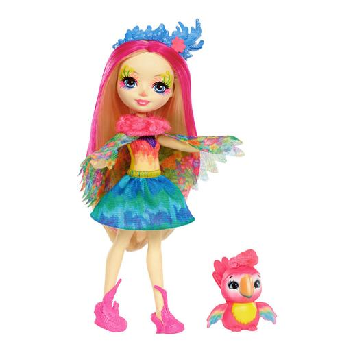 Enchantimals - Boneca Peeki Parrot