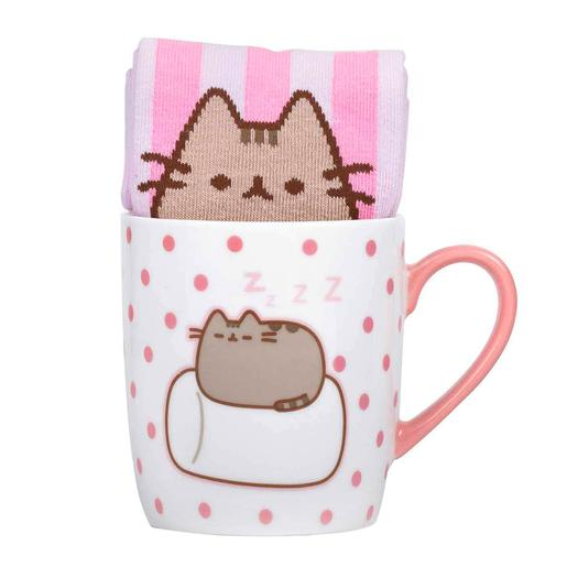 Pusheen - Set Caneca e Meias Marshmallow
