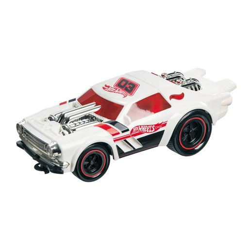 Hot Wheels - Coche Radio Control con Luces y Sonidos