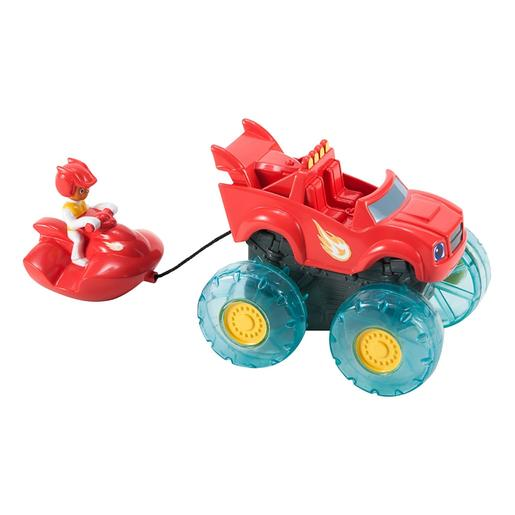Fisher Price - Blaze e os Monster Machines - Blaze e AJ Esqui Aquático