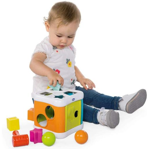 Chicco - Multicubo Encajable 2 en 1 Smart2play