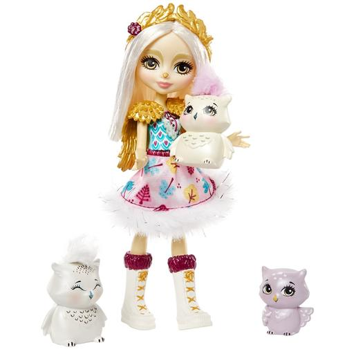 Enchantimals - Boneca Odele Owl com Mascotes