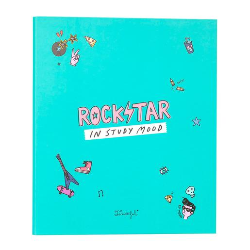 Mr. Wonderful - Rockstar In Study Mood - Pasta Arquivadora