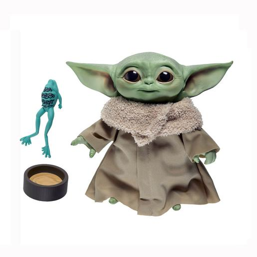 Star Wars - Baby Yoda The Child - Pack Peluche 19 cm com Sons