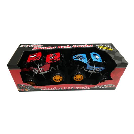 EZ Drive - Pack 2 Todo-o-Terreno Monster Rock Crawler