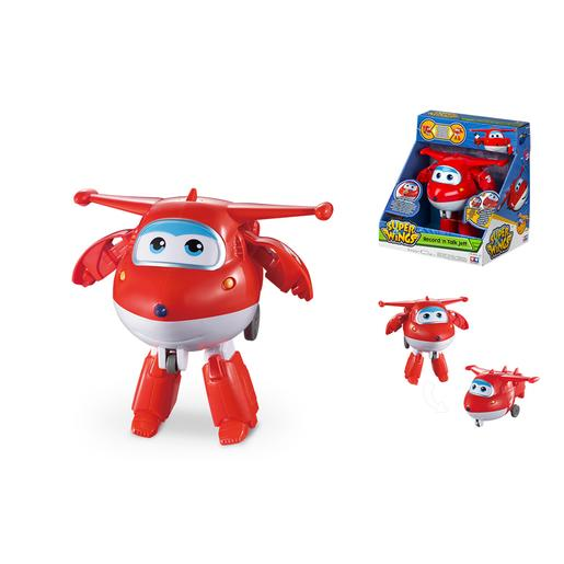 Super Wings - Figura Jett Transformável