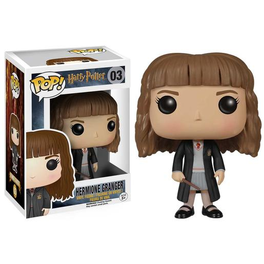 Harry Potter - Hermione Granger Uniforme Hogwarts - Figura Funko POP