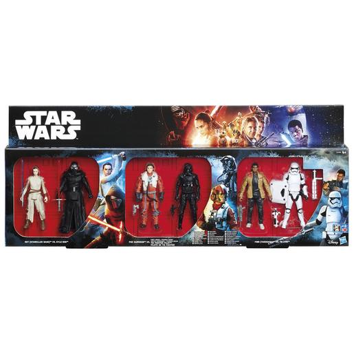Star Wars - Battle Pack 6 Figuras