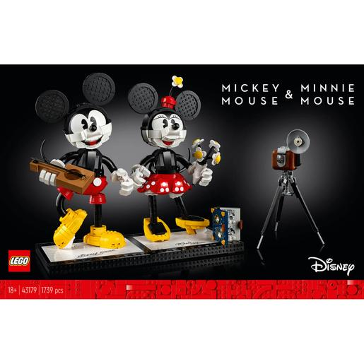 LEGO Disney Princess - Personagens para construir: Mickey Mouse e Minnie Mouse - 43179