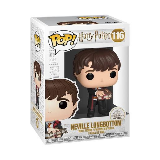 Harry Potter - Neville com Livro de Monstros - Figura Funko POP