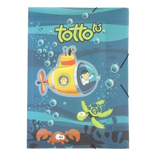 Totto - Kit Escolar Submarino - Pasta Simples