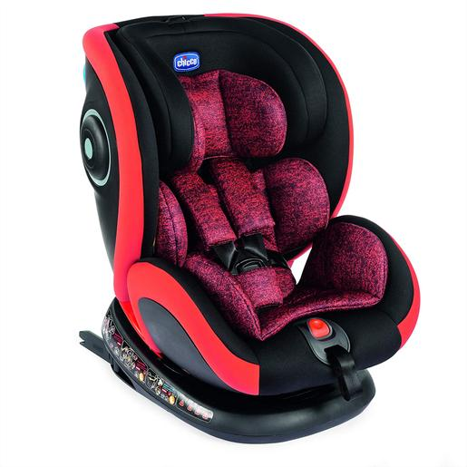 Chicco - Caidera Auto Seat4Fix (Gr. 0+/1/2/3) Isofix Poppy Red Chicco