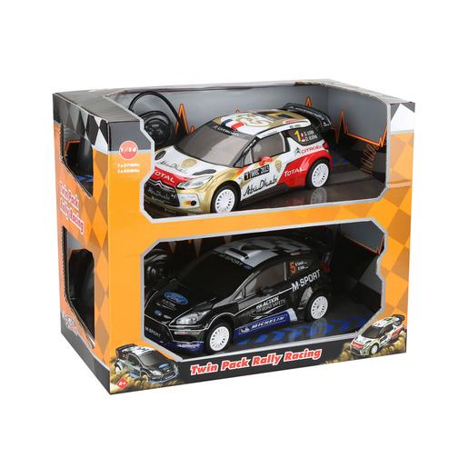 EZ Drive - Pack 2 Carros Rádio Controlo Rally Racing 1:16