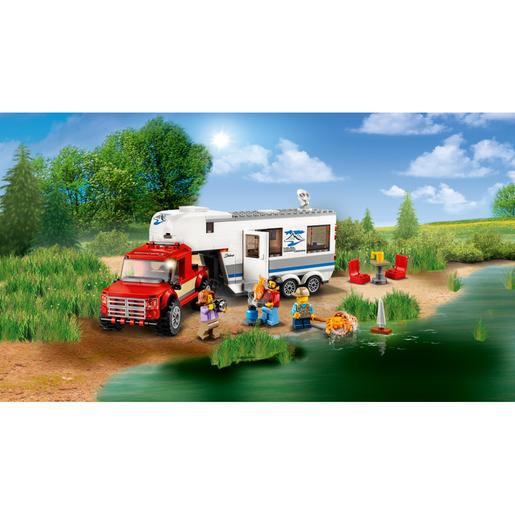 LEGO City - Pick-Up e Caravana - 60182