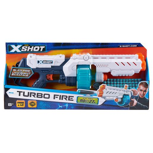 X-Shot - Pistola Turbo Fire com 48 Dardos