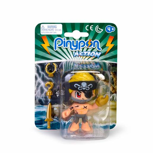 Pinypon - Pirata Louro - Figura Pinypon Action