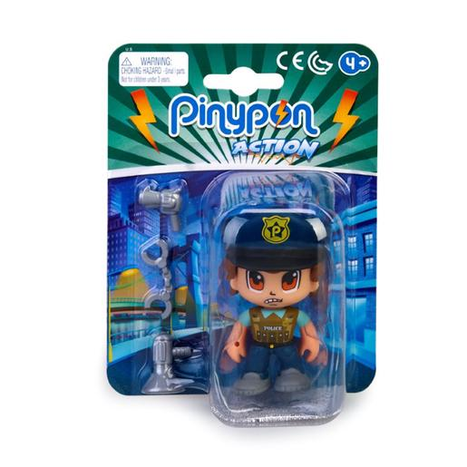 Pinypon - Boss - Figura Polícia Especialista Pinypon Action