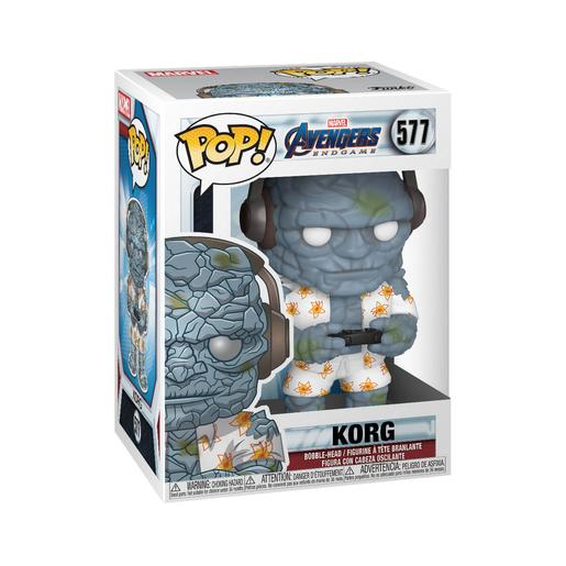 Os Vingadores - Korg Bobble-Head Endgame Gamer - Figura Funko POP