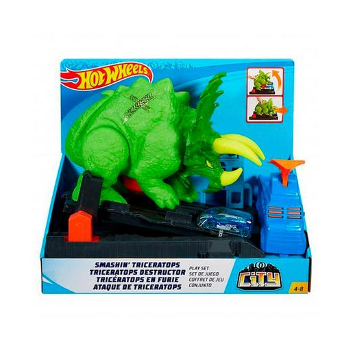 Hot Wheels - Ataque do Triceratops