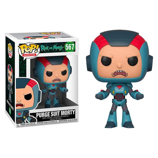 Rick and Morty - Purge Suit Morty - Figura Funko POP