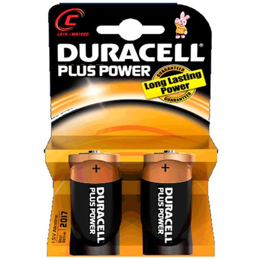 Duracell - Pilhas Duracell Plus tipo C (LR-14)