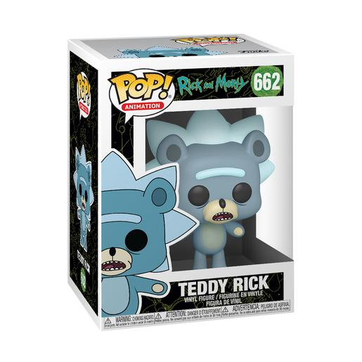 Rick e Morty - Teddy Rick - Figura Funko POP