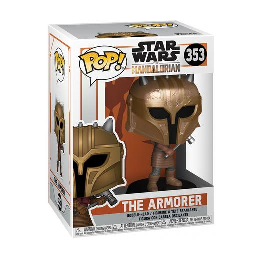 Star Wars - The armorer The Mandalorian - Figura Funko POP