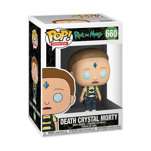 Rick e Morty - Death Crystal Morty - Figura Funko POP