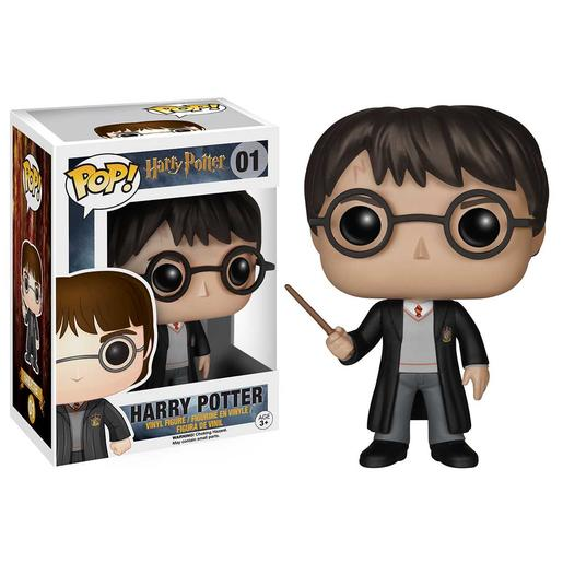 Harry Potter com Uniforme de Hogwarts - Figura Funko POP