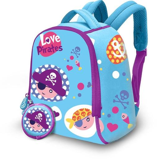 Mochila de neopreno Love Pirates 25 cm