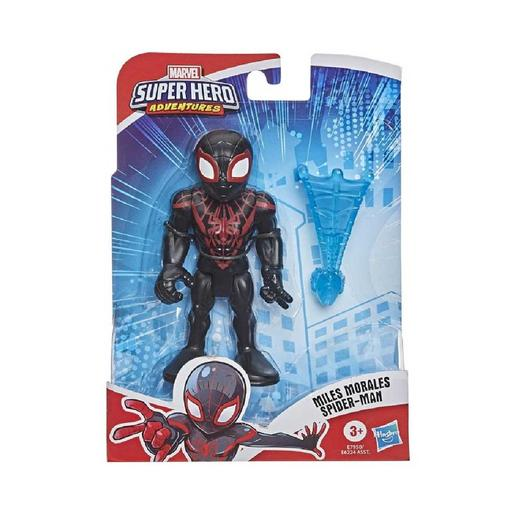Spider-man - Figura Miles Morales Super Hero Adventures