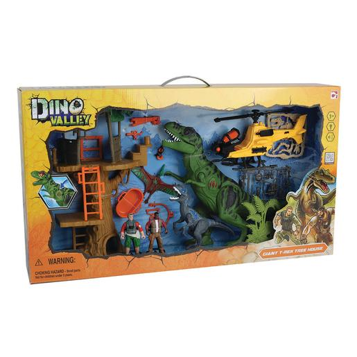 Dino Valley - Playset Ataque en la Selva