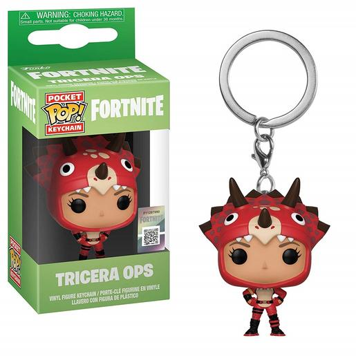 Fortnite - Tricera Ops - Porta-chaves POP Pocket