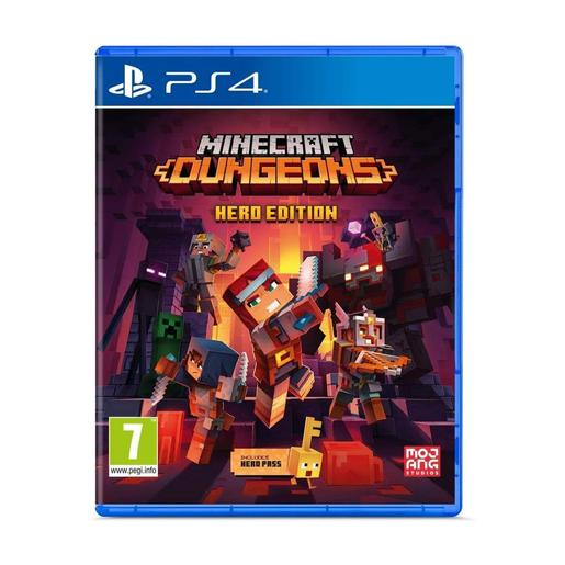 PS4 - Minecraft Dungeons Hero Edition