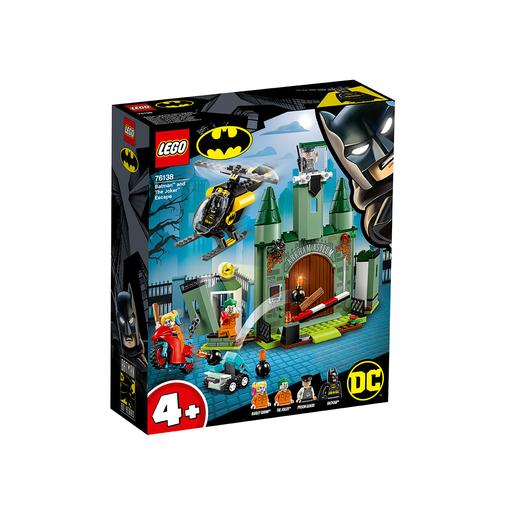 LEGO Super-heróis - Batman e a fuga do Joker 76138
